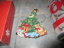 """FITZ And FLOYD """" WEE CHRISTMAS TREE """" Ornament Small with BOX"""
