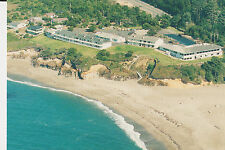 Surfrider Motel and shoreline from the air; Depot Bay; Oregon Coast postcard