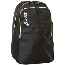 Asics 8294 Kayano Stripes Black Organizational Adjustable Straps Backpack BHFO