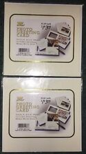 (2) Photo Greeting Cards ~ Comes w/ Envelopes ~ Brand-New