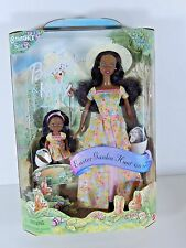 NIB BARBIE DOLL 2000 EASTER GARDEN HUNT AFRICAN AMERICAN BLACK AA