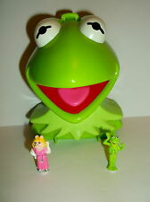 BLUEGRASS 1997 DISNEY Polly Pocket Muppet Show Kermit la Rana MISS PIGGY 100%