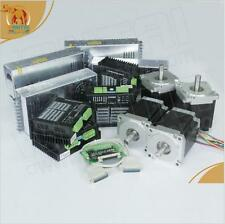 【German Ship】4Axis Nema34 Stepper Motor 1232oz,6A,118mm CNC Engarver,Foam Miller