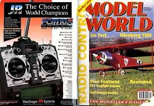 RADIO CONTROL MODEL WORLD MAGAZINE 1994 APR PSS DOGFIGHT DOUBLE AIRCOBA & FW190D
