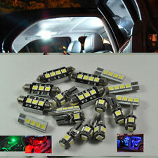 Error Free White 14 Light LED Interior Kit For Mercedes Benz C-Class W203 00-07