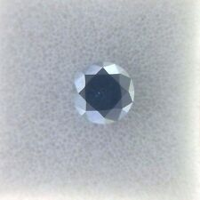 Tiny 0.10TCW 2.7MM SI1 Green Blue color Round Brilliant Loose Natural Diamond