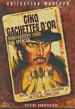 DVD - CINQ CACHETTES - Montgomery Ford - Bud Spencer