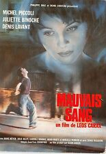 B56959 Mauvais ang Michel Piccoli and Juliette Binoche    movie star