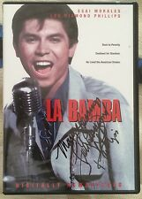 LA BAMBA New Autographed Lou Diamond Philips Widescreen DVD Cover & Book Signed
