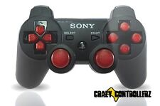 PS3 Playstation 3 Modded Controller Rapid Fire Jitter Mod Black Ops 2 Red More!