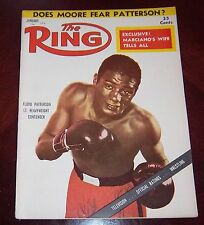 The Ring Magazine January 1956  Floyd Patterson Collectable