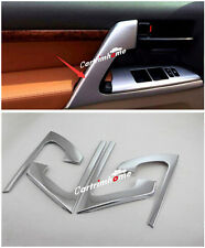 Car Door Armrest Stripe Cover Trim 4pcs for Toyota Land Cruiser LC200 2008-2016