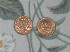 1993/1994/1995 Singapore 1 cents Coin *Free Post