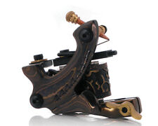 Damascus Series SPIKE (SHADER) 10-Wrap Short Coil Tattoo Machine Steel Supply