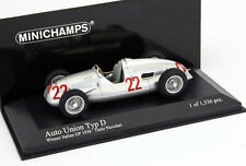 Tazio Nuvolari Auto union type D winner GP Italie 1938 1:43 MINICHAMPS