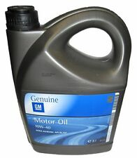 GENUINE GM 10W-40 SEMI SYNTHETIC ENGINE OIL 1 x 5Litres