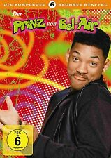 Fresh Prince Of Bel Air - Season 6 UK Compatible PAL DVD Will Smith, James Avery