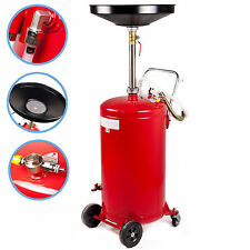 28 GALLON PORTABLE AIR PNEUMATIC WASTE OIL GARAGE EXTRACTOR DRAIN DRAINER TANK