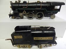 AMERICAN FLYER  # 4675 = 4-4-2 STEAM ENGINE WITH 4693 VANEBILT TENDER RUNS