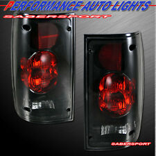 89-95 TOYOTA PICKUP TRUCK ALTEZZA STYLE TAIL LIGHTS BLACK SMOKE BULBS INCLUDED