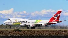 INFLIGHT 200 IF744QFA2016 1/200 QANTAS BOEING 747-400 OLYMPIC LIVERY WITH STAND