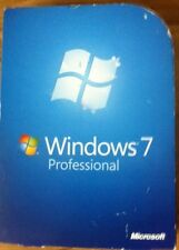 Microsoft Windows 7 Professional Operating System 32 Or 64 Bit Complete Genuine
