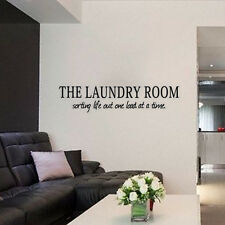 The Laundry Room Life Time Art Vinyl Decal Living Wall Quote Inspiration Sticker