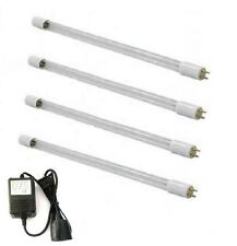 4 X UV Bulbs Lamps 12W (1GPM) For Ultraviolet Water Sterilizer Filter + Ballast