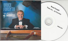 BRUCE FORSYTH These Are... My Favourites 2011 UK 13-track promo test CD