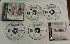Final Fantasy IX (Sony PlayStation 1, 2000) Black Label