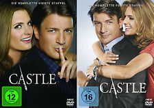 Castle - Die komplette 4. + 5. Staffel (Nathan Fillion)              | DVD | 255