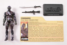 GI Joe 25th DVD Battles SNAKE EYES Pyramid Of Darkness Loose 100% Complete
