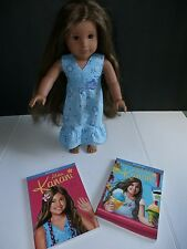 American Girl Doll Kanani + Meet Dress + 2 Books 2011 GOTY Retired Hawaiian