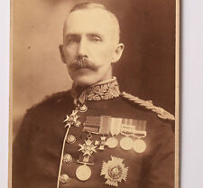 MAJOR GENERAL SIR WILLIAM GATACRE PHOTO ELLIOTT et FRY 1875