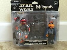 Disney Star Wars Tours Muppets Animal, Scooter Lando, Link Han Carbonite NEW