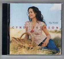CYNDI THOMSON cd like new MY WORLD