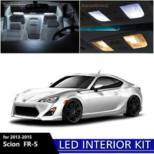 6PCS White Interior LED Light Package Kit For 2013 - 2015 Scion FR-S FRS