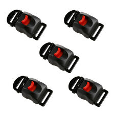 5pcs Motorcycle Helmets Speed Clip Buckle Chin Strap Quick Release Disconnect
