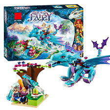 Elves Adventure of the Dragon Water dragon Building blocks Friends Fit lego10500