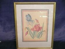 USED A. Renee Dollar limited edition 298/1000 painting of flowers hotel art