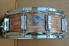 1909-2009 LUDWIG USA 100th ANN. '64 JAZZ FESTIVAL PINK OYSTER SNARE DRUM! #C629