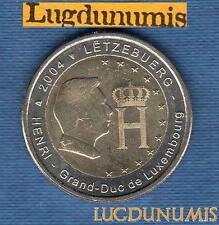 2 euro Commémo - Luxembourg 2004 Grand Duc Henri de Luxembourg
