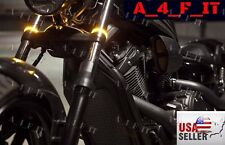 LED 43mm Motorcycle Fork Turn Signal or /Running Light Kit