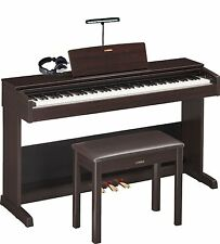 Yamaha Arius YDP-103R Digital Piano Bundle with Headphones and Clip-On Light