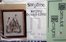 SLEEPING BEAUTY'S CASTLE Cross-Stitch Chart by Camelot Designs Storytime Series