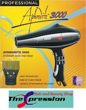 Aphrodite Ultra Ionic 3000 Professional Hair Dryer with Afro Pik  - UK SELLER