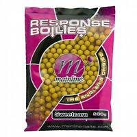 Mainline Response Shelf Life 10mm Boilies in Six Flavours 200g Bag @ M H Tackle