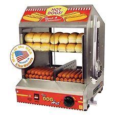 Hotdog Steamer Bun Warmer cooker commercial Grill Dog Hut Concession Cart Star