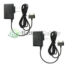 2x RAPID Travel Battery Home Wall AC Charger for Samsung Galaxy TAB TABLET 10.1""