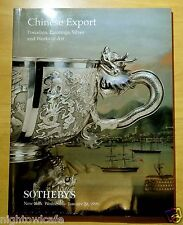 Chinese Export Porcelain,Paintings,Silver & Art 1999 SOTHEBY'S AUCTION CATALOGUE